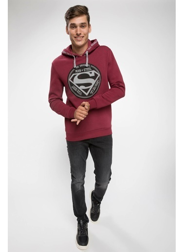 DeFacto Sweatshirt Bordo